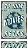 Movie poster frames by JB Trophies & Custom Frames